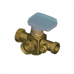 910044NT Low Temperature Four-way Mixing Valve