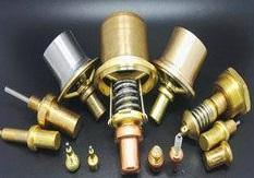 temperature control valve element for air-compressor